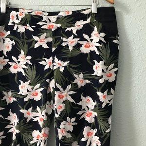 Old Navy Pants - Old Navy Maternity floral print skinny pants sz 8